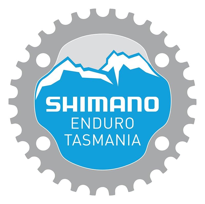 008 - Shimano Enduro Tasmania logo (presented by, no banner)